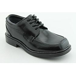 Kenneth Cole Reaction Kids Boy's T-Flex Black Dress Shoes