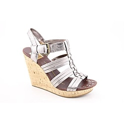 Dolce Vita Women's Shellie Silver Sandals