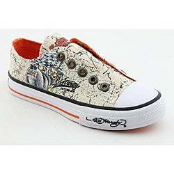 Ed Hardy Boy's Lowrise Beige Casual Shoes
