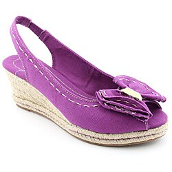 Naturalizer Women's Bola Purple Sandals Narrow