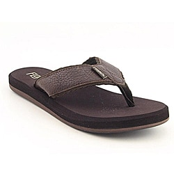 Flojos Men's Cole II Brown Sandals