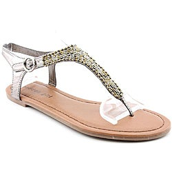 Madden Girl Women's Mistah Bronze Sandals