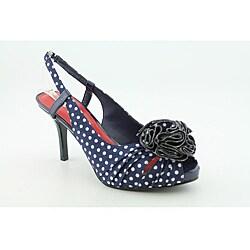 Something blue polka dot shoes