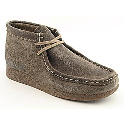 Clarks Originals Boy's Wallabee Brown Boots