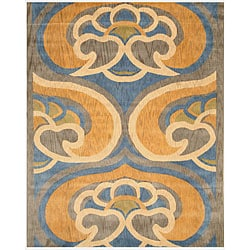 Hand-tufted Wool Byron Area Rug (8'9 x 11'9)