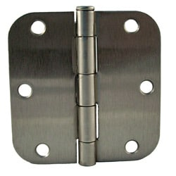 GlideRite 3.5-inch x 5/8-inch Satin Nickel Door Hinges (Pack of 12)