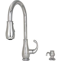 Price Pfister Treviso 1-handle Pullout Kitchen Faucet with Soap Dispenser