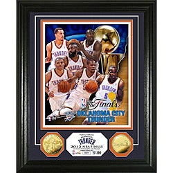 Oklahoma City Thunder 2012 NBA Finals Team Force Gold Coin Photo Mint