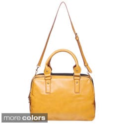 Mondani 'Morgan' Goldtone Hardware Tote