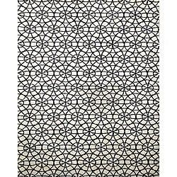 Alliyah Handmade Ivory New Zealand Blend Wool Rug (5' x 8')