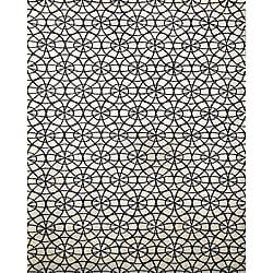Sabrina Hand-tufted Ivory Wool Rug (5&#39; x 8&#39;)