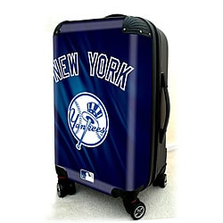 New York Yankees 20-inch Expandable Hardside Spinner Carry-on Upright