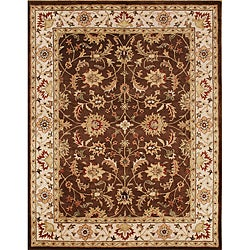 Alliyah Handmade Brown 100 Percent New Zealand Wool Rug (8' x 10')