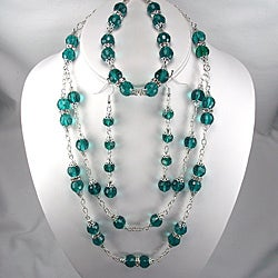 Emerald Green Crystal Wedding Jewelry