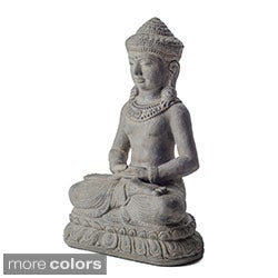 Volcanic ash Peaceful Royalty Statue (Indonesia)