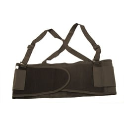 Large Black Back Support Belt