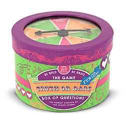 Melissa & Doug Truth or Dare Box of Tween-friendly Trivia Questions