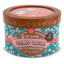 Melissa & Doug Camp Bunk Box of Questions English Trivia Card Game