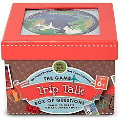Melissa & Doug Family Road Trip Talk Box of Trivia Card Game Questions