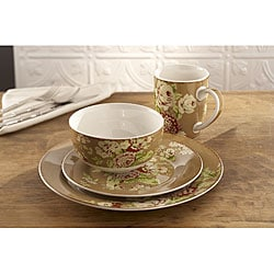 Waverly Tea Dance Cafe 16-piece Dinner Set