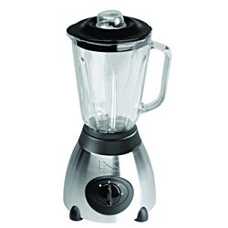Kalorik Stainless Steel Blender with Glass Jar