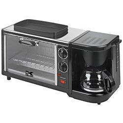 Kalorik Breakfast Maker 3 in 1 Coffee Maker/ Oven/ Griddle- Refurbished