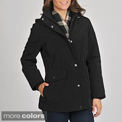 London Fog Women&#39;s &#39;Poly Anorak&#39; Jacket