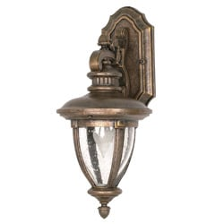 Galeon Arm Down 1-light Platinum Gold Wall Sconce