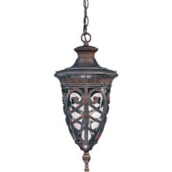 Aston 1-light Dark Plum Bronze Hanging Lantern