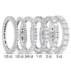 14k White Gold 1/3ct to 3ct TDW Diamond Eternity Ring (G-H, I1-I2)