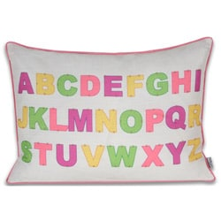 ABC 16x22-inch Bright Pillow