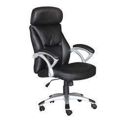 Lexia Black Pneumatic Lift Office Chair
