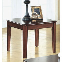 Cherry Veneer Louis Philippe End Table