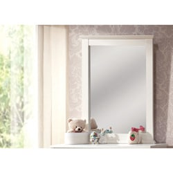 White Bungalow Mirror