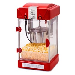 Elite 'Theater Style' Red Retro 1-gallon Tabletop Popcorn Maker