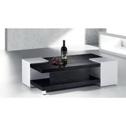 High Gloss Black / White Coffee Table