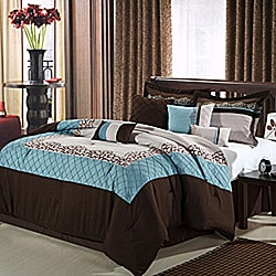 Mustang Brown 8-piece Comforter Set