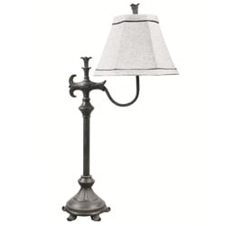 Filigree Old Iron Table Lamp
