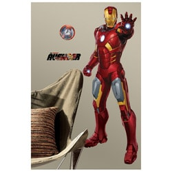 RoomMates Avengers Iron Man Peel and Stick Giant Wall Decal