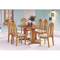 Stockholm Oak Finish Chairs (Set of 2)