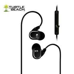 Turtle Beach Ear Force M1 Mobile Gaming Ear Buds with In-Line Mic