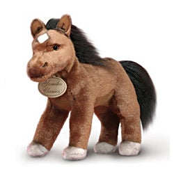 Russ Berrie Yomiko 9-inch Collectible Brown Mustang Pony Plush