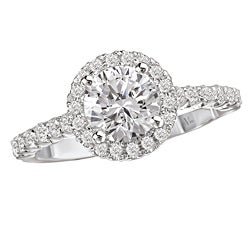 Avanti 14k Gold 3/8ct TDW Diamond Semi-mount Engagement Ring (G-H, SI1-SI2)