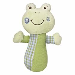 Mary Meyer Baby Cheery Cheeks Hop Hop Frog Rattle