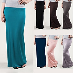 Tabeez Women's Pencil Maxi Skirt