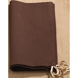 Chocolate Satin Napkins (Set of 4)