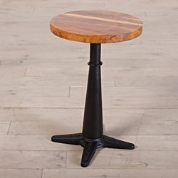Lucknow Cast Iron Swivel Stool (India)
