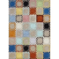 Alliyah Kids Handmade Tufted Multi Color New Zealand Blend Wool Rug (8' x 10')