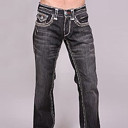 Laguna Beach Men's 'Redondo Beach' Black Wash Jeans