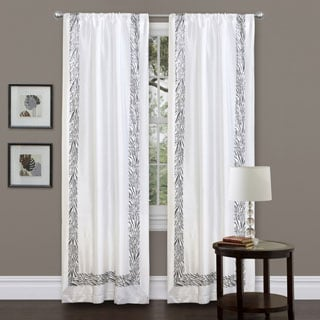 Lush Decor Grey Urban Savanna 84-inch Curtain Panel